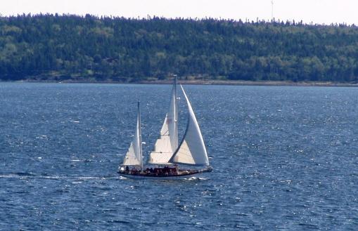 Us on yacht